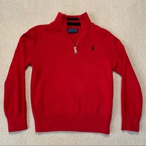 POLO Red Sweater - Boys Size 8